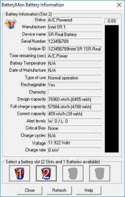 Fujitsu Esprimo Mobile X9525 - nie ładuje po wymianie ogniw - zablokowana ?