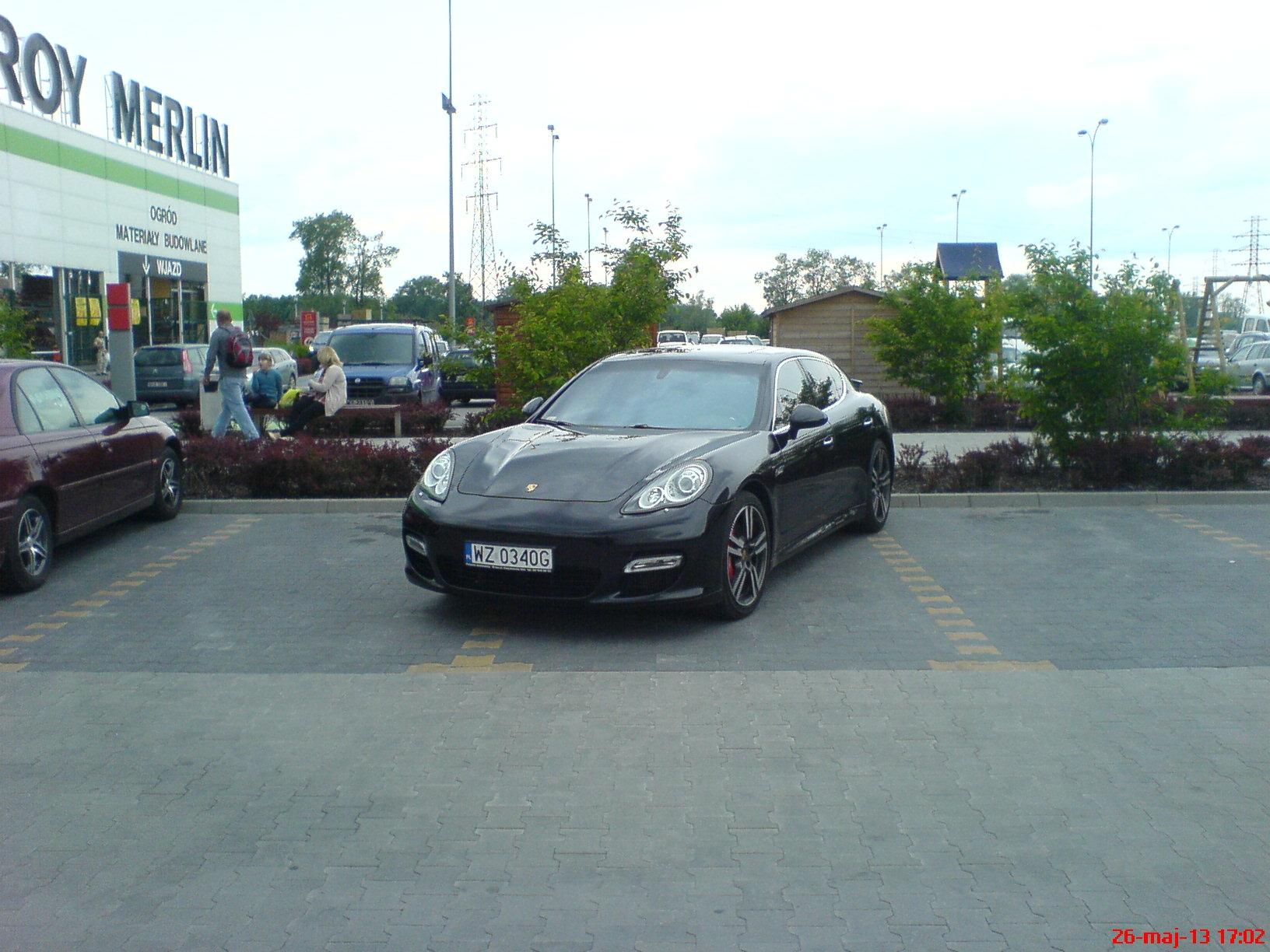 Zachowanie kierowcy na ... parkingu.