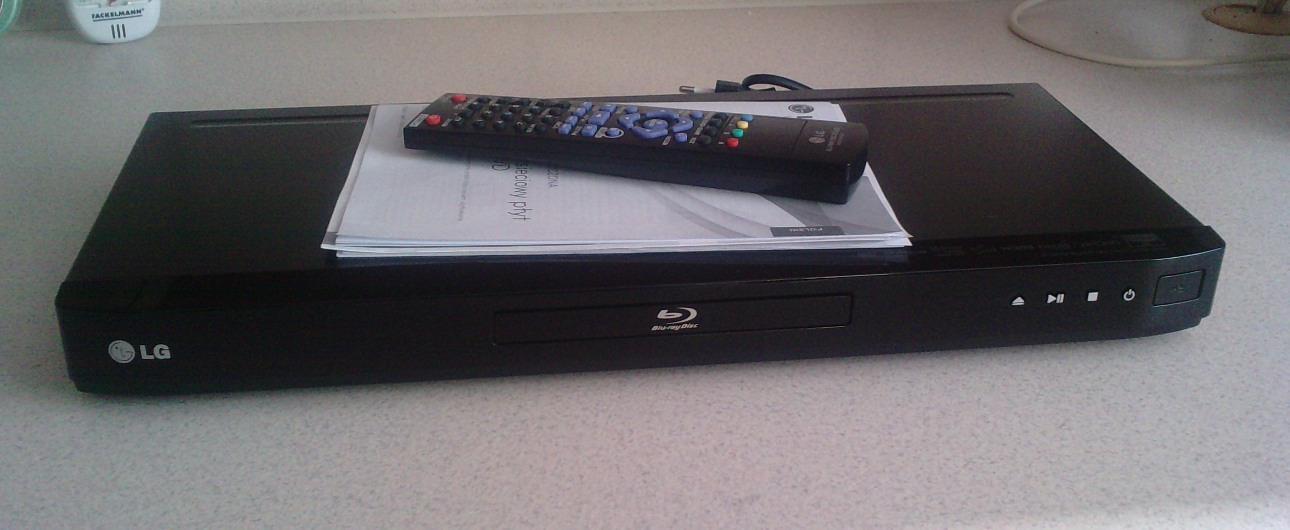 [Sprzedam] Odtwarzacz BluRay DVD LG model BD-550 na gwarancji.