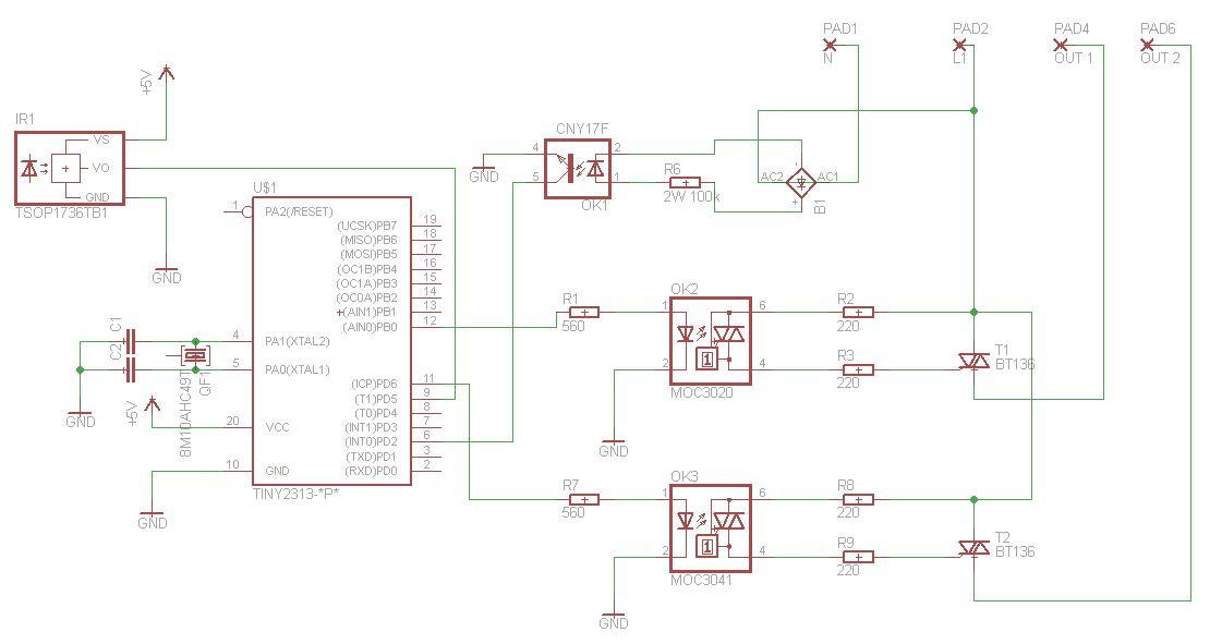 [attiny2313][bascom]Sterowanie fazowe + RC5 , program si� zawiesza