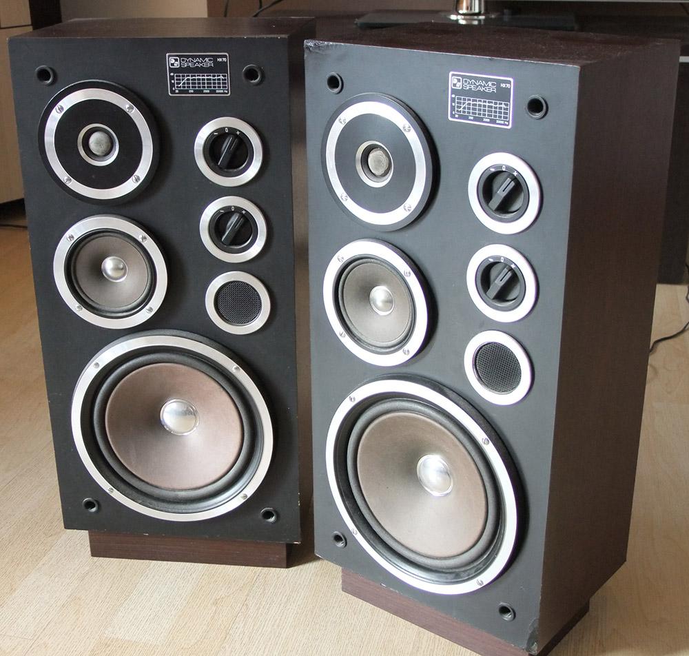 [Sprzedam] Kolumny stereo Dynamic Speaker HX70 (Unitra Tonsil ZgB-60-8-60)