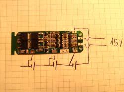 Ładowanie ogniw typu 18650, 3V7.