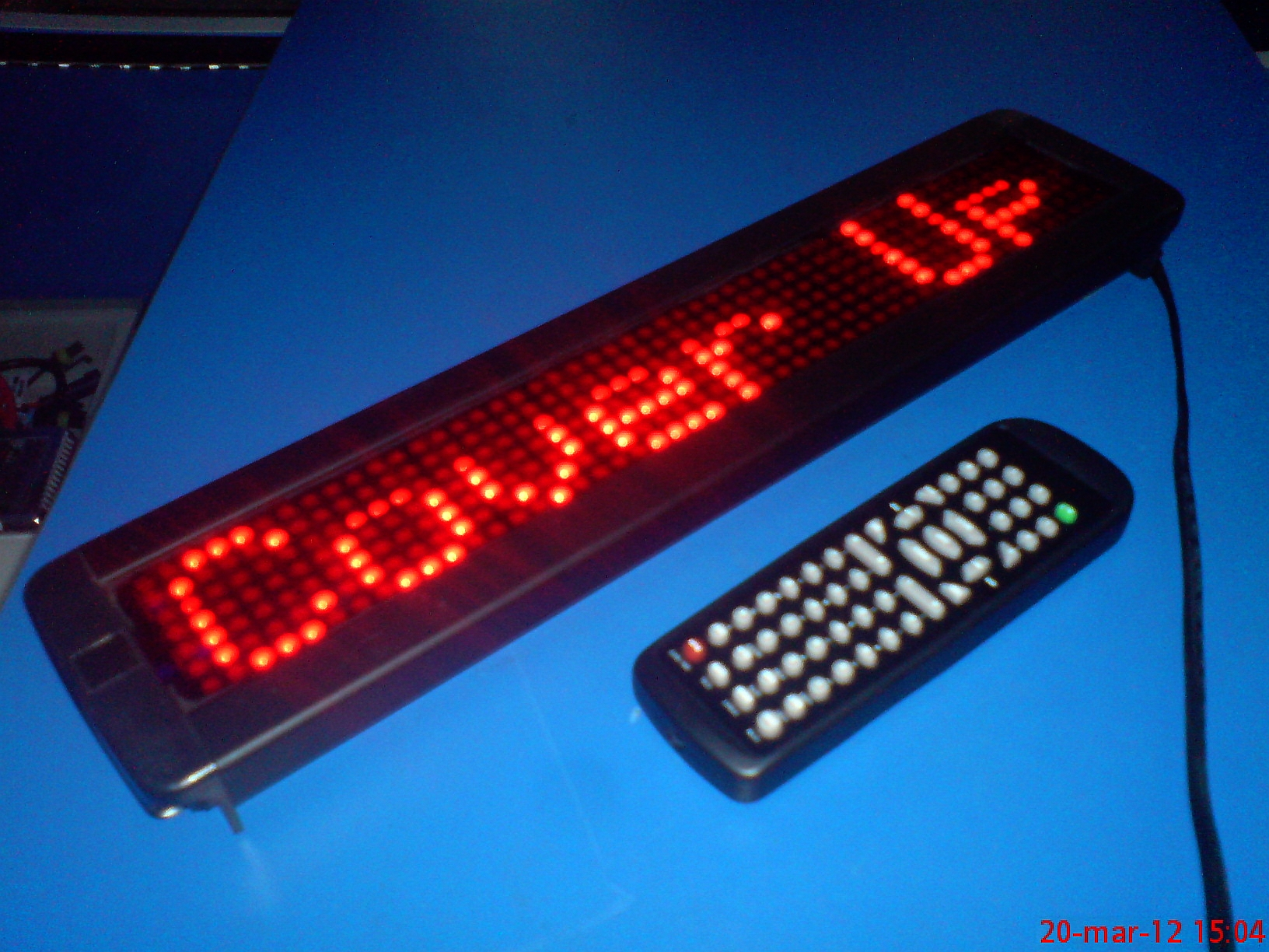 Modernistyczne reklama led programowanie z pilota - elektroda.pl JE77
