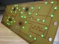 Zegar LED z bardzo dużym wyświetlaczem