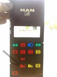 [Man F2000] Czerwona kontrolka od zawieszenia