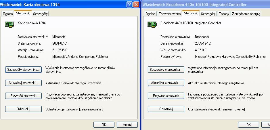 Brak WiFi po formacie HP Compaq nx6110