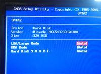 Hitachi HCC543232A7A380 - zablokowany dysk