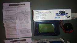Panelowy miernik poboru mocy/zużycia energii P06S-20/100 - test