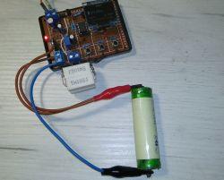 PIC12F1840 - Tester rezystancji wewnętrznej Li-Ion + rozładowywarka