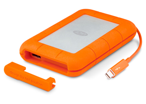 LaCie Rugged - dyski HDD 1-2 TB, SSD 120-256 GB z USB 3.0 i Thunderbolt