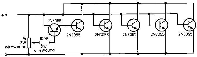 Zasilacz regulowany Ben Spencer, G4YNM, 40A 13.2V PSU