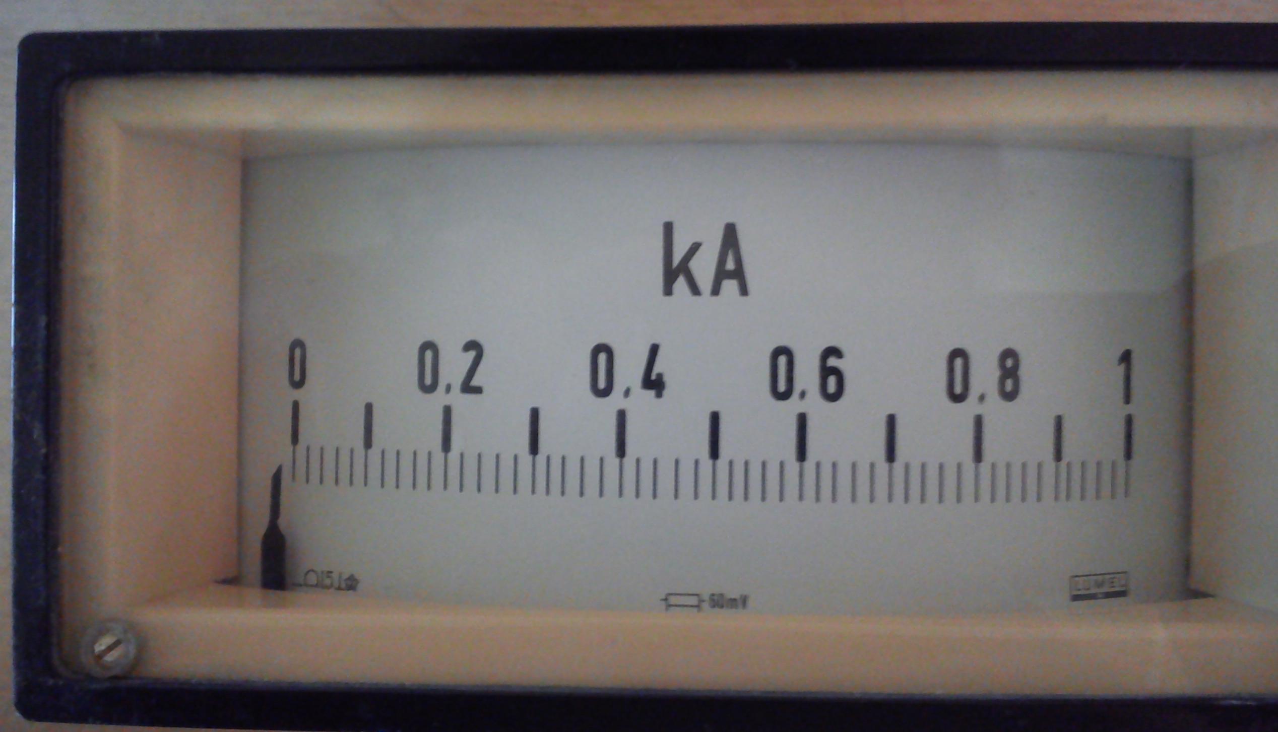 Amperomierz z bocznikiem - jakie jednostki pomiar�w?