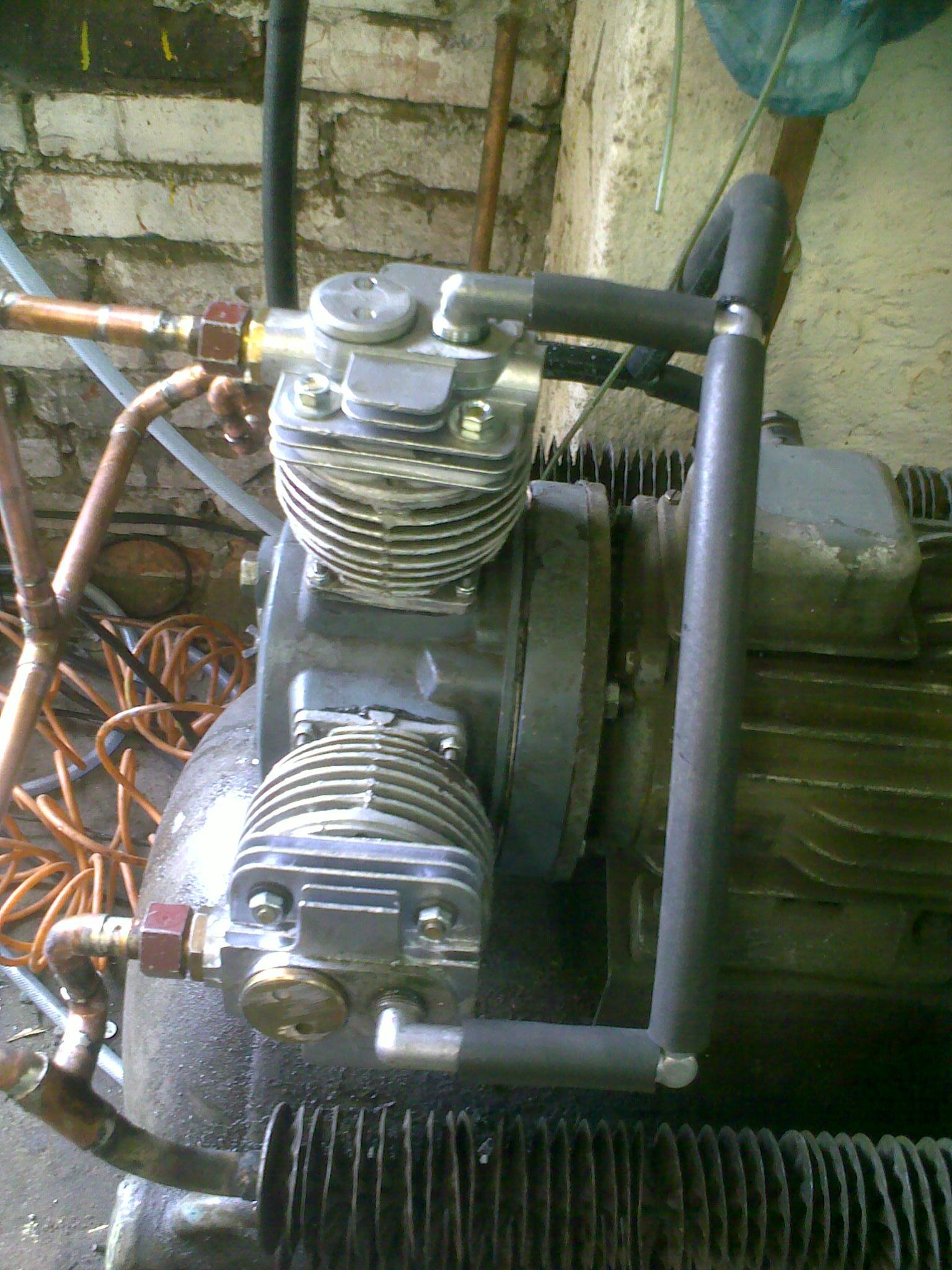 Ogromny Remont sprężarki Aspa 3jw60 - elektroda.pl MT37