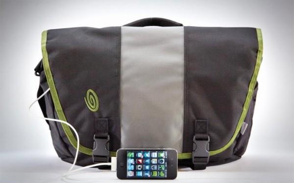 Timbuk2 Power Commute - torba na rami� z wbudowan� �adowark� akumulatorow�
