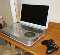 MS, xbox360 - Xbox tunning - stworzenie 'laptopa'
