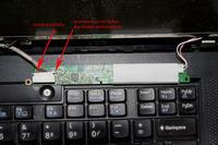 Lenovo R500 - Brak podświetlenia matrycy (obraz jest)