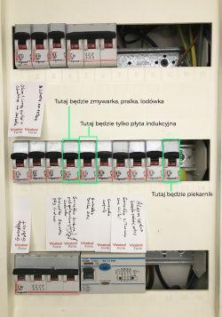 Max obciążenie - płyta indukcyjna + piekarnik (B16)