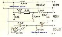 Zwrotnica do ZG60C115 - jakie cewki i kondensatory zastosować?