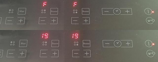 Płyta indukcyjna Ariston Hotpoint KIO 632 CC błąd F19