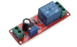 NE555 włącznik monostabliny (1 sekunda)