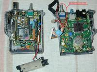 YAESU FTH-2010 vB 25kHz przełącznik kanałów i przestrojenie