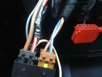 Audi A3 8L r. 2000 ambiente - Pod��czenie radia, niestandardowa instalacja