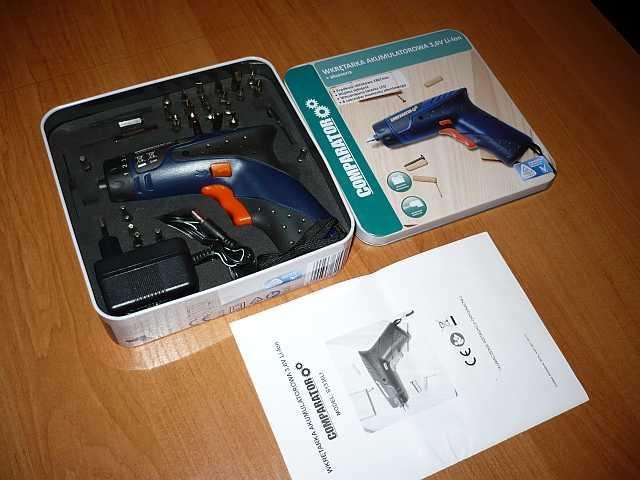 [Sprzedam] Wkr�tarka 3,6V Li-ION Comparator