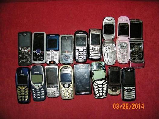 [Sprzedam] Sprzedam zestaw 17sztuk telefon�w uszkodzonych