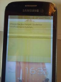 Samsung Trend GTGT-S7560 - Nie działa po wymianie ekranu i panelu dotykowego