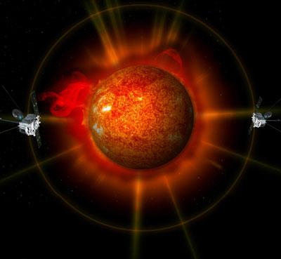 NASA zrobi�a pierwsze dook�lne zdj�cie s�o�ca.