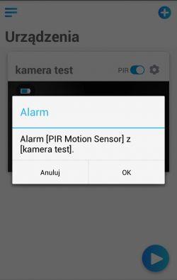 Bezprzewodowa zewnętrzna kamera WiFi - Piri