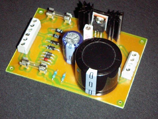 Zasilacz dla system�w lampowych na tranzystorze MOSFET