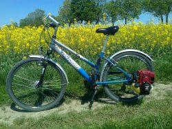 Rower z silnikiem Honda GX35