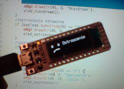 Sygnalizator smogu - ESP8266 + OLED