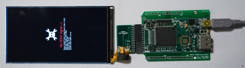 Adapter HDMI -> MIPI DSI (wyświetlacze ze smartphone'ów)