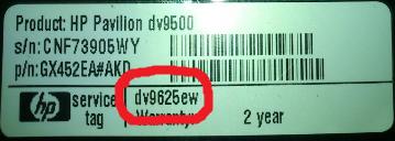 nie dzia�a monitor HP Pavilion dv95000