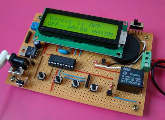 Programowalny timer/prze��cznik czasowy
