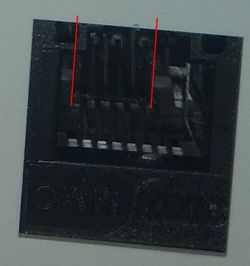 Gniazdo telefoniczne/komputerowe - Podłączenie przewodow