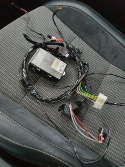 Toyota Auris Hybryda - Alarm Cobra Vodafone jak usunąć z samochodu