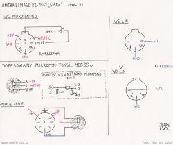 Rejestrator kasetowy Unitra Elmasz RZ-1547 SMAK - opis i kalibracja.
