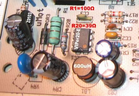 Pralka Whirpool AWM 6081. Wymiana opornik�w w programatorze.