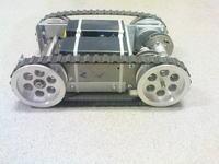 M�j pierwszy robot na g�sienicach