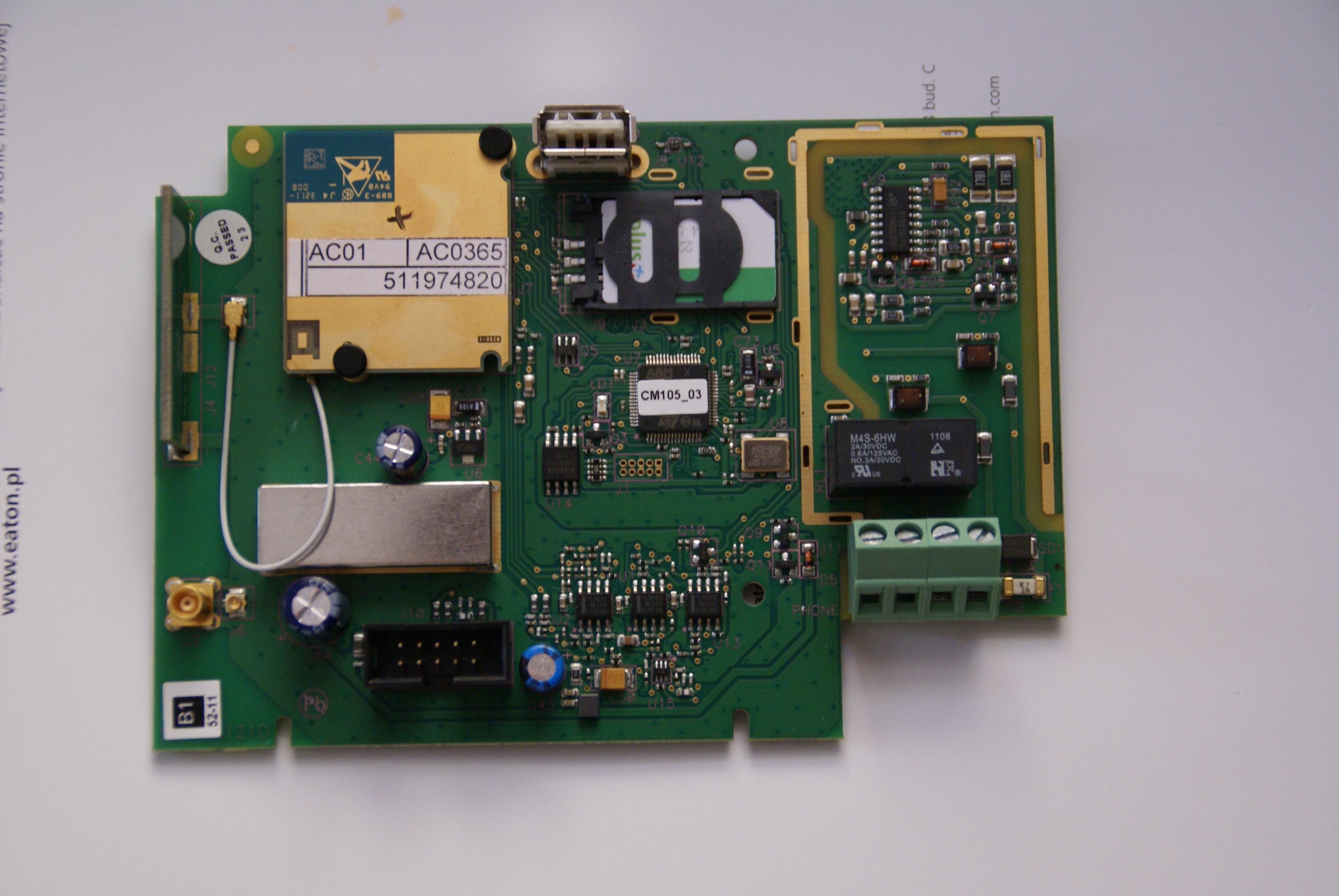 Nieznany modu� komunikacyjny GSM