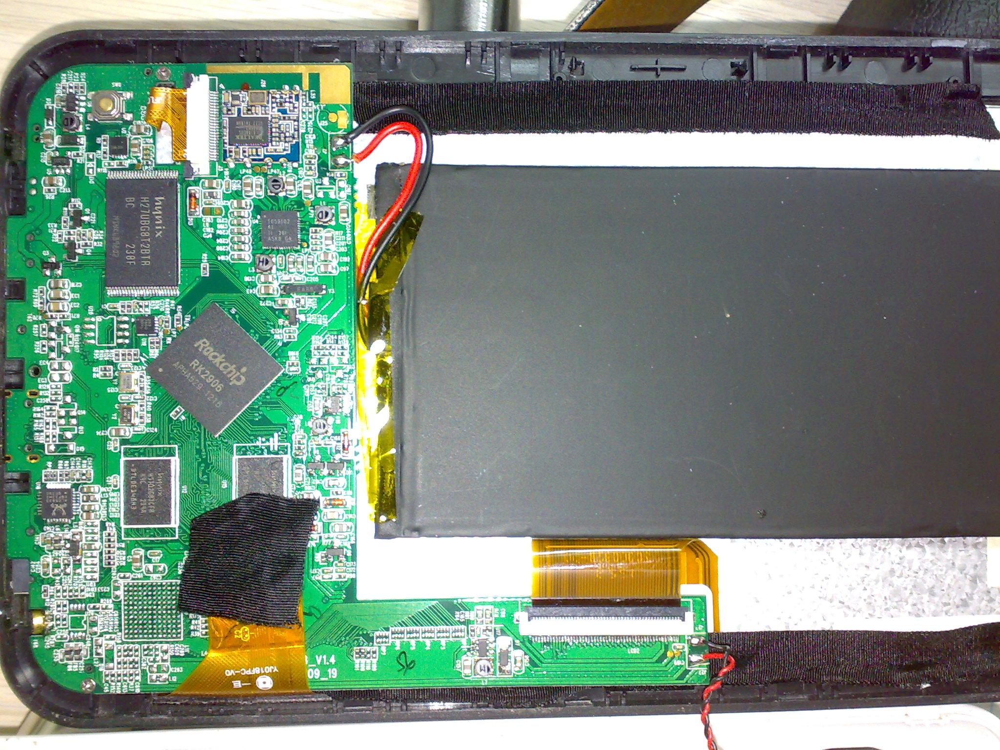 Goclever TAB R75 - Dzia�a tylko po pod��czeniu do gniazda USB laptopa