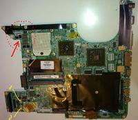 HP Pavilion dv9000 - nie włącza się