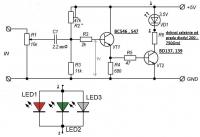 Schemat prostego analogowego wzmacniacza