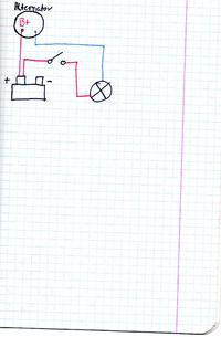 Ltz alternator szesćiodiodowy- przekaźnik