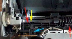 HP LaserJet 1020 - Drukowanie po jednej kartce i zacięcie.