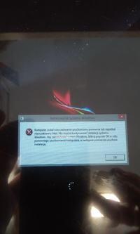Lark Ultimate 7i Win - Tablet nie chce sie w pełni uruchomić