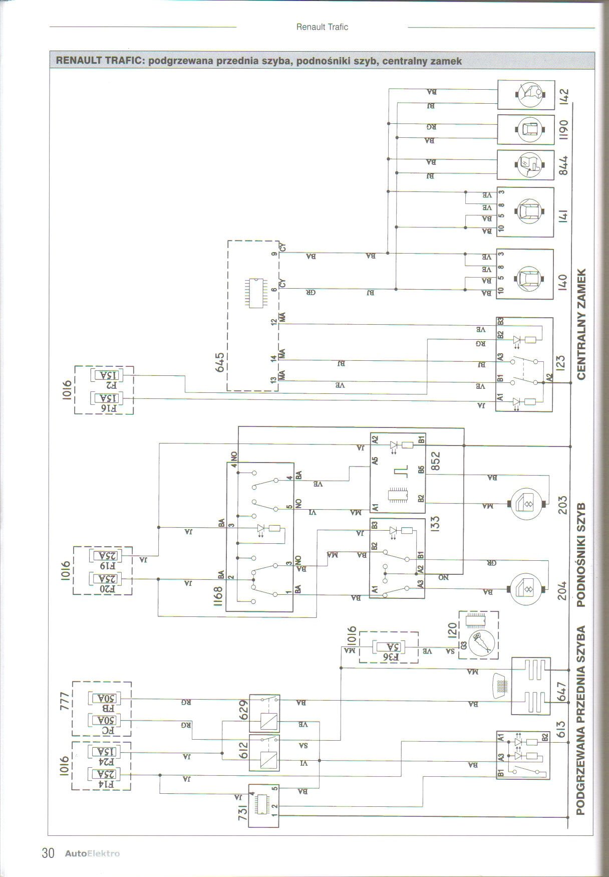 renault trafic abs wiring diagram computers and communication, Wiring diagram